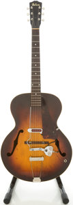 Musical Instruments:Acoustic Guitars, Circa Late 1930's Gibson L-50 Sunburst Archtop Acoustic Guitar, #-37....