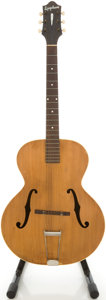 Musical Instruments:Acoustic Guitars, Circa 1937 Epiphone Zenith Refinished Archtop Acoustic Guitar,#11603....