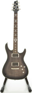 Musical Instruments:Electric Guitars, Recent Ibanez SZR720 Trans Black Solid Body Electric Guitar,#W270075....