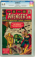 Silver Age (1956-1969):Superhero, The Avengers #1 (Marvel, 1963) CGC FN 6.0 Off-white pages....