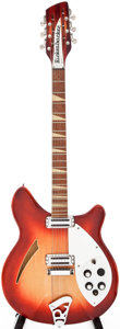 Musical Instruments:Electric Guitars, 1966 Rickenbacker 360/12 Fireglo Semi-Hollow Body Electric Guitar,Serial # FK3892....