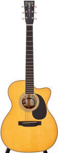 Musical Instruments:Acoustic Guitars, 2005 Martin 000-C Steve Miller Signature Model Natural Acoustic Guitar, Series # 1070033....