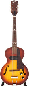 Musical Instruments:Electric Guitars, Circa 1969 Gibson ES-125T 3/4 Sunburst Semi-Hollow Body electricGuitar, Serial # 803612....