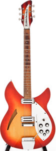 Musical Instruments:Electric Guitars, 1966 Rickenbacker 345 Fireglo Semi-Hollow Body Electric Guitar,Serial # FI2950....