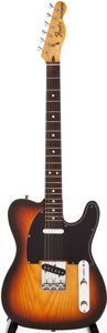 Musical Instruments:Electric Guitars, 1978 Fender Telecaster Sunburst Solid Body Electric Guitar, Serial# S838289....