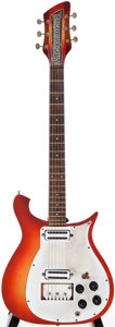 Musical Instruments:Electric Guitars, Late 1950s/Early 1960s Rickenbacker Combo 450 Fireglo Solid BodyElectric Guitar, Serial # 511A....
