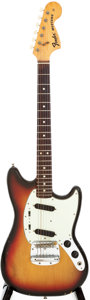 Musical Instruments:Electric Guitars, 1974 Fender Mustang Sunburst Solid Body Electric Guitar, Serial # 546977....