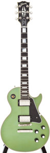 Musical Instruments:Electric Guitars, 2007 Gibson Les Paul Custom Inverness Green Solid Body Electric Guitar, Serial # 0710728. ...