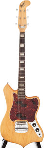 Musical Instruments:Electric Guitars, 1969 Fender Custom Natural Solid Body Electric Guitar, Serial #257616....