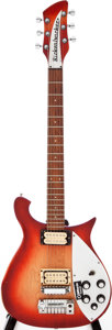 Musical Instruments:Electric Guitars, 1967 Rickenbacker Combo 460 Fireglo Solid Body Electric Guitar,Serial # GE2324....