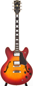 Musical Instruments:Electric Guitars, 1980 Gibson ES-347 Cherry Sunburst Semi-Hollow Body ElectricGuitar, Serial # 8220031. ...
