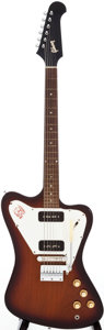 Musical Instruments:Electric Guitars, 1965 Gibson Firebird I Sunburst Solid Body Electric Guitar, Serial # 517853. ...