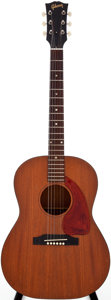 Musical Instruments:Electric Guitars, 1965 Gibson LG-0 Natural Acoustic Guitar, Serial #274940....