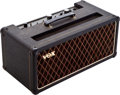 Musical Instruments:Amplifiers, PA, & Effects, 1960s Vox AC-50 Black Guitar Amplifier, Serial # 03846....