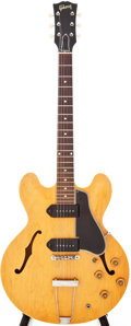 Musical Instruments:Electric Guitars, 1959 Gibson ES-330 Natural Semi-Hollow Body Electric Guitar....