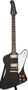 Musical Instruments:Electric Guitars, 1976 Gibson Firebird Black Solid Body Electric Guitar. ...