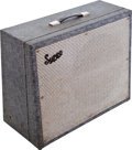 Musical Instruments:Amplifiers, PA, & Effects, 1965 Supro Thunderbolt Grey Guitar Amplifier....