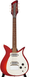 Musical Instruments:Electric Guitars, Circa 1960 Rickenbacker 950 Fireglo Solid Body Electric Guitar,Serial # VO100....