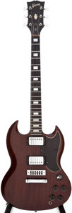 Musical Instruments:Electric Guitars, 1973 Gibson SG Standard Cherry Solid Body Electric Guitar, Serial # 105815....