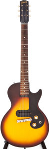 Musical Instruments:Electric Guitars, 1960 Gibson Melody Maker Sunburst Solid Body Electric Guitar,Serial # 010720....