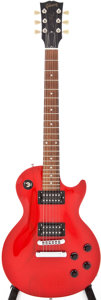Musical Instruments:Electric Guitars, 1999 Gibson The Paul Trans Red Solid Body Electric Guitar, Serial #92329471....