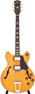 Musical Instruments:Electric Guitars, 1971 Gibson ES-150 Natural Semi-Hollow Body Electric Guitar, Serial# 734061....