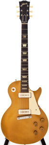 Musical Instruments:Electric Guitars, 1954 Gibson Les Paul All Gold Solid Body Electric Guitar, Serial #4 3286....