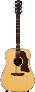 Musical Instruments:Acoustic Guitars, 1976 Gibson J-55 Natural Acoustic Guitar, Serial # 00168648....