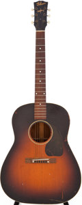 Musical Instruments:Acoustic Guitars, Circa 1944 Gibson J-45 Sunburst Acoustic Guitar. ...