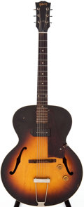 Musical Instruments:Electric Guitars, 1956 Gibson ES-125 Sunburst Archtop Electric Guitar, Serial # # V6574....