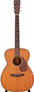 Musical Instruments:Acoustic Guitars, 1957 Martin 00-18 Natural Acoustic Guitar, Serial # 156689....