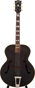 Musical Instruments:Acoustic Guitars, 1949 Gibson L-7 Black Archtop Acoustic Guitar, Serial # A3393....