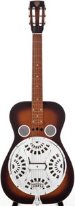 Musical Instruments:Resonator Guitars, 1980s Dobro Model 60 Sunburst Resonator Guitar, Serial # 8 15953D....