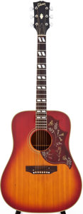 Musical Instruments:Acoustic Guitars, 1968 Gibson Hummingbird Sunburst Acoustic Guitar, Serial #921381....