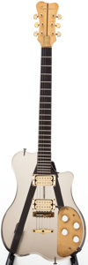 Musical Instruments:Electric Guitars, Late 1970s Renaissance Acrylic Smoke Solid Body Electric Guitar....
