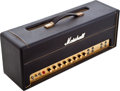 Musical Instruments:Amplifiers, PA, & Effects, 1967 Marshall Plexi Super P.A. 100 Black Amplifier Head, Serial # 20301....
