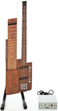 Musical Instruments:Electric Guitars, 1992 Bunker Touch Natural Electric Guitar, Serial # 33003....
