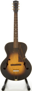 Musical Instruments:Acoustic Guitars, Circa 1930's Cromwell Sunburst Archtop Acoustic Guitar....