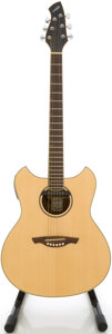 Musical Instruments:Acoustic Guitars, Wechter 3120 Natural Acoustic Electric Guitar, #14207....