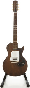 Musical Instruments:Electric Guitars, Circa 1960 Gibson Melody Maker Refinished Solid Body Electric Guitar....
