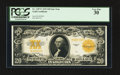 Large Size:Gold Certificates, Fr. 1187* $20 1922 Gold Certificate PCGS Very Fine 30.. ...