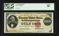 Large Size:Gold Certificates, Fr. 1209 $100 1882 Gold Certificate PCGS Very Fine 20.. ...