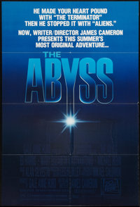 """The Abyss & Other Lot (20th Century Fox, 1989). One Sheets (2) (27"""" X 40"""" & 27"""" X 41""""..."""