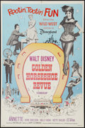"""Movie Posters:Musical, The Golden Horseshoe Revue and Other Lot (Buena Vista, 1964). One Sheets (2) (27"""" X 41""""). Musical.. ... (Total: 2 Items)"""