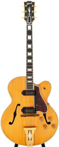 Musical Instruments:Electric Guitars, 1952 Gibson L-5CES Natural Archtop Electric Guitar, Serial #A10223....