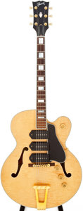 Musical Instruments:Electric Guitars, 1998 Gibson ES-5 Blonde Semi-Hollow Body Electric Guitar, Serial #93158006. ...