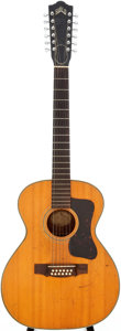 Musical Instruments:Acoustic Guitars, 1968 Guild F-212 Natural 12 String Acoustic Guitar, Serial #AN-429....