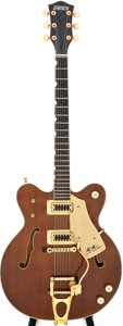 Musical Instruments:Electric Guitars, Late 1970s Gretsch Country Gentleman Walnut Semi-Hollow BodyElectric Guitar....
