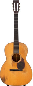 Musical Instruments:Acoustic Guitars, 1927 Martin 000-18 Natural Acoustic Guitar, Serial # 32862....