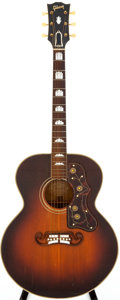 Musical Instruments:Acoustic Guitars, 1959 Gibson SJ-200 Sunburst Acoustic Guitar, Serial # A2444. ...